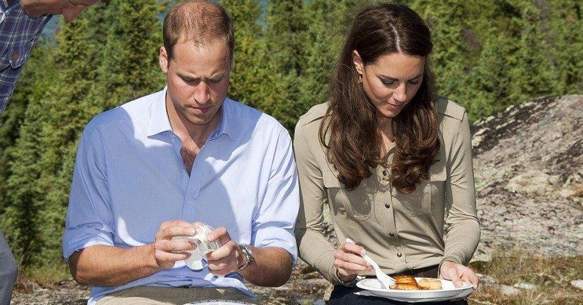 Королевская семья против пластика