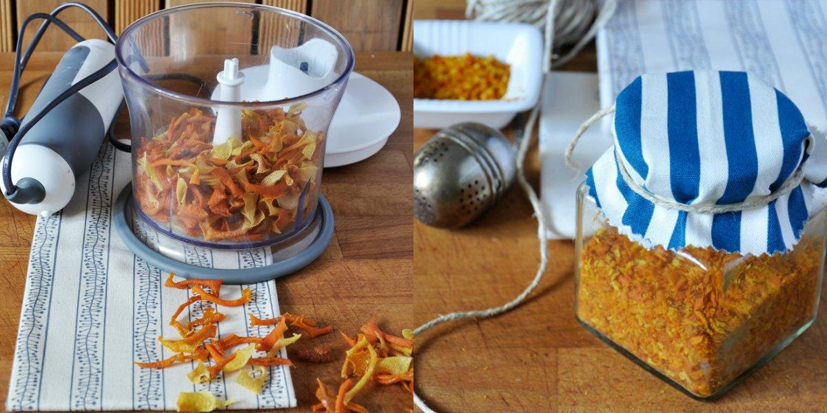 цитрусовая цедра для выпечки
