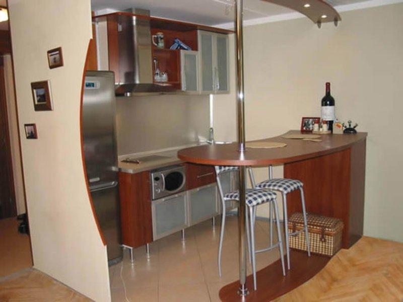 Барная стойка на кухню своими руками фото