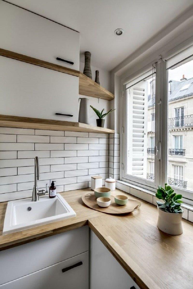 Ремонт на кухне в скандинавском стиле