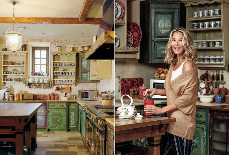 юлия высоцкая на кухне
