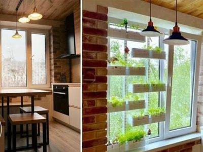 Кухня в стиле кафе