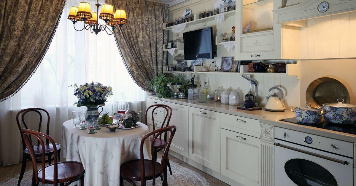 кухня в французском стиле