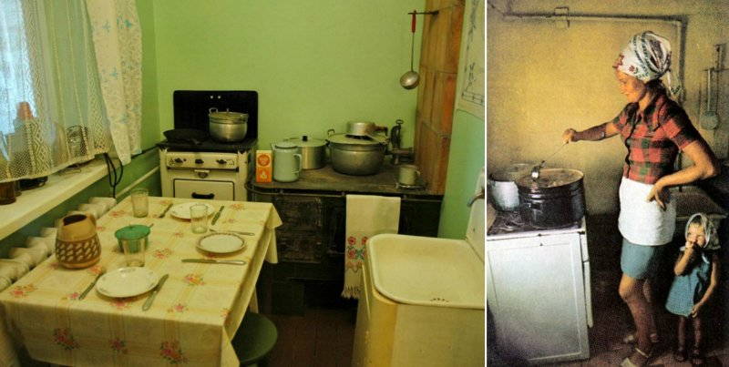 советская кухонная утварь