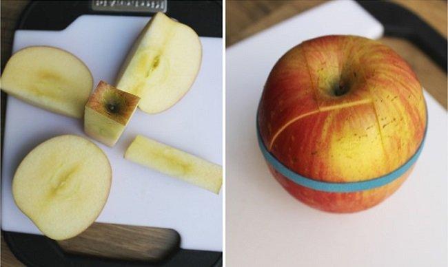 нарезанное яблоко фото