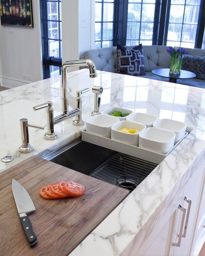 кухонные раковины