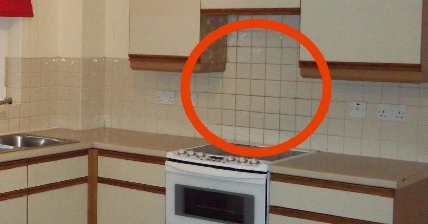 декор рабочей стены на кухне