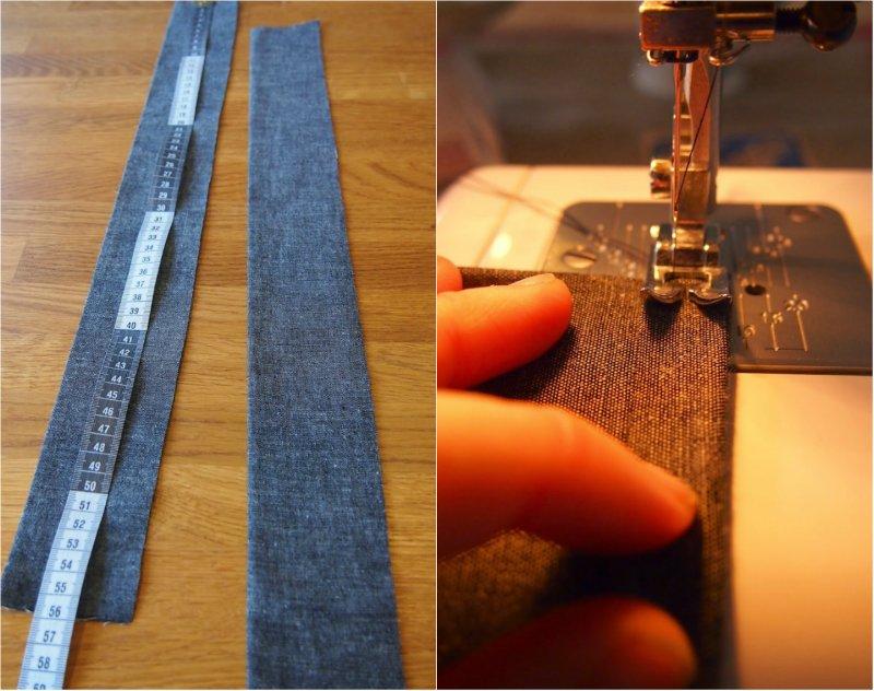 как шить фартук