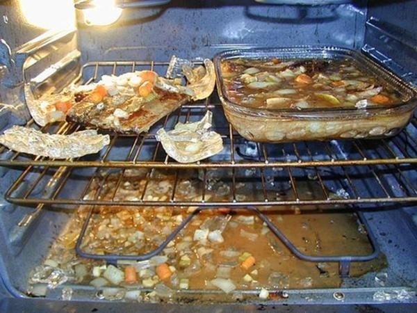 кулинарный провал