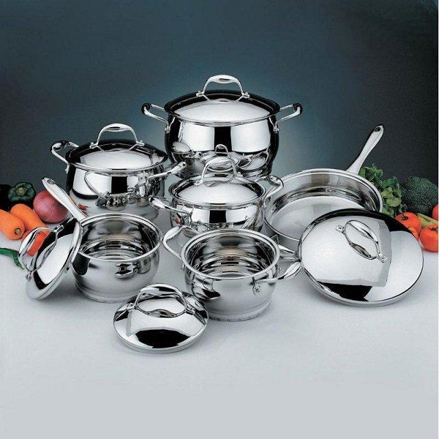 хромированная посуда
