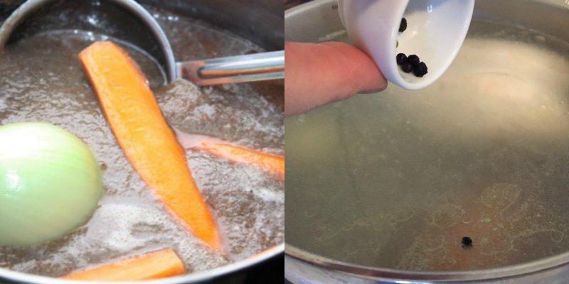 как варить куриный бульон