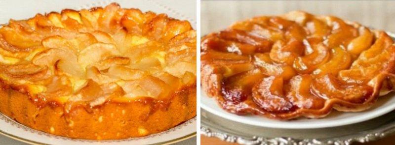 Jabłczane przysmaki, ciasto z karmelizowanymi jabłkami
