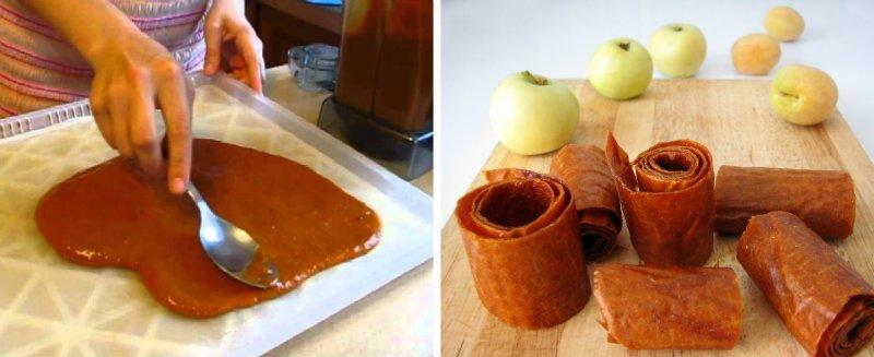 Apple traktuje, makaron jabłkowy