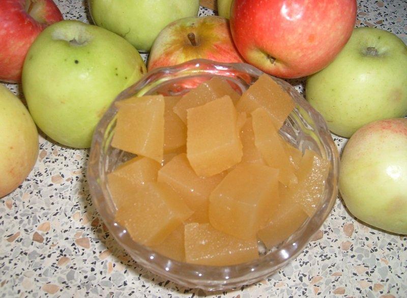 Jabłczane przysmaki, marmolada jabłkowa