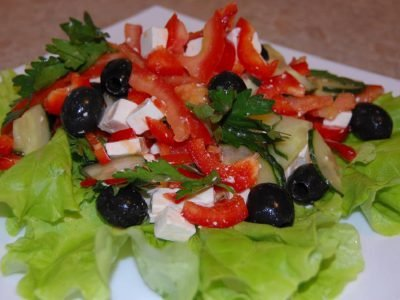 Salate de legume ușoare