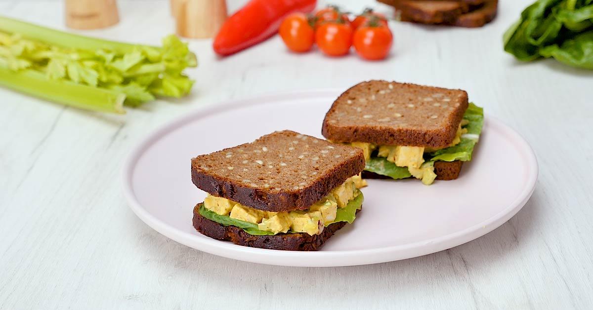 сэндвич с тофу