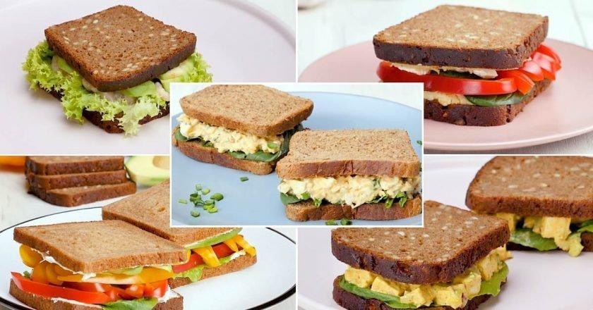 Легкие сэндвичи