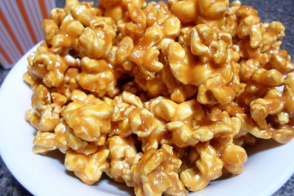 рецепт домашнего попкорна