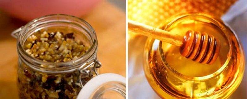 Как сделать курага изюм мед