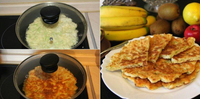 капустные лепешки на сковороде
