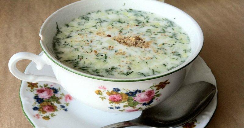 zimne letnie zupy
