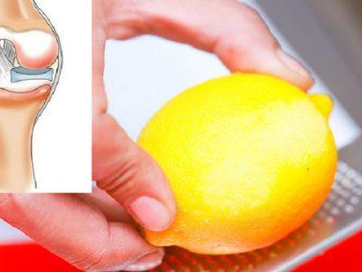 Лимонная цедра от боли в суставах