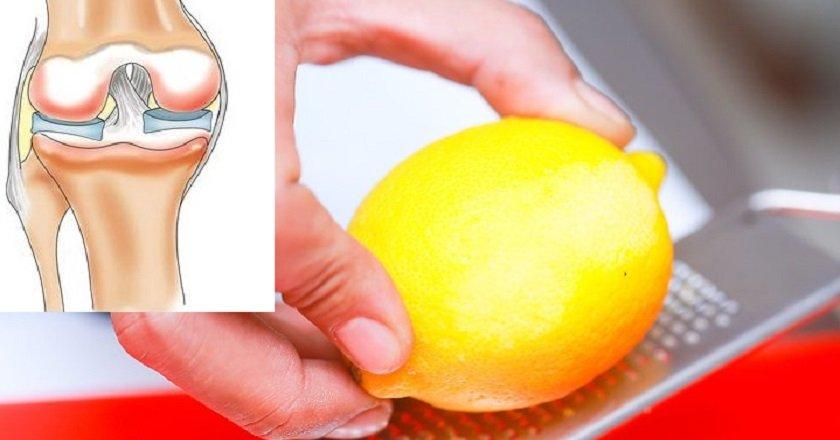 лимонная цедра для суставов
