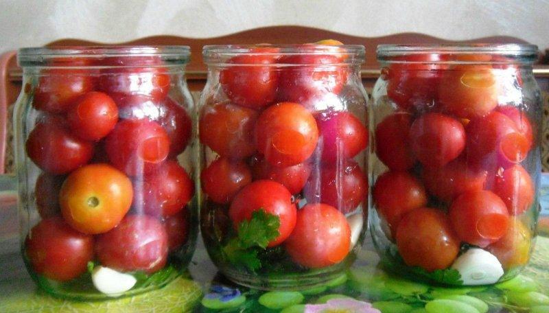 помидоры с лимонной кислотой
