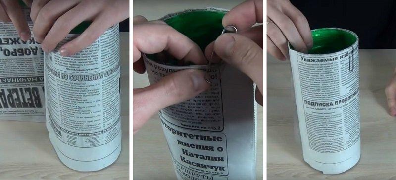 ловушка для комаров из пластиковой бутылки