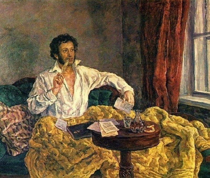 что ел пушкин