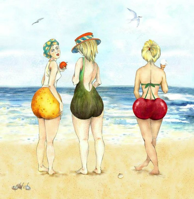 любимый фрукт и характер женщны