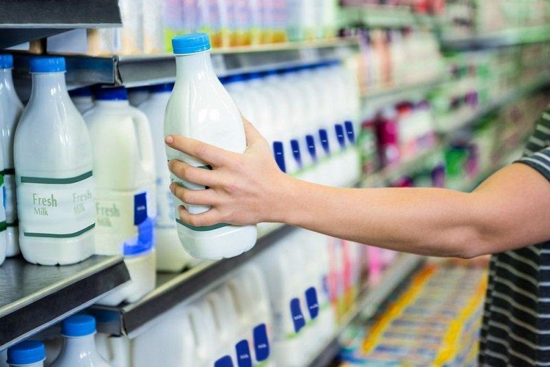 магазинное молоко