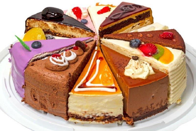 магазинные торты