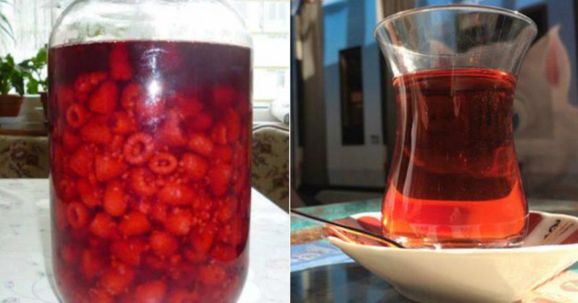 как приготовить малиновую настойку