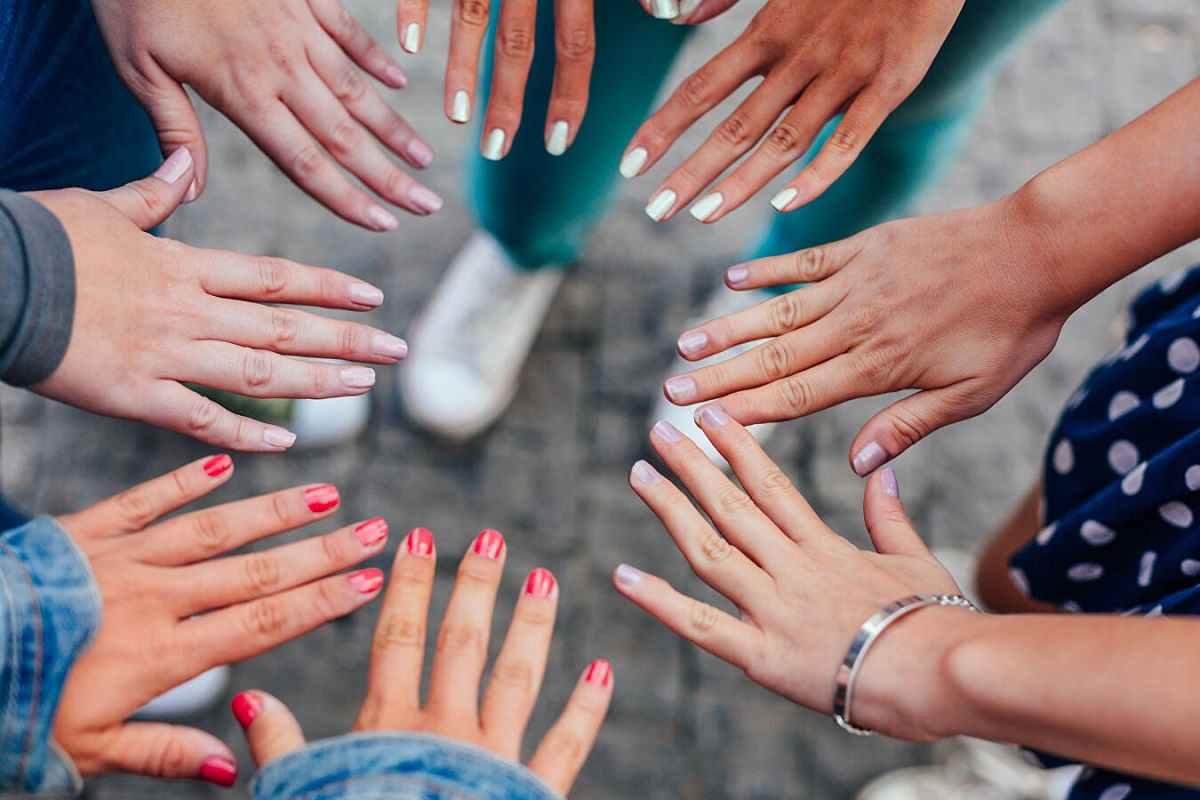 Маникюр на короткие ногти: 5 вариантов