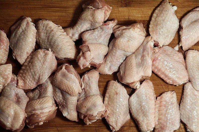 куриные голени и бедрышки