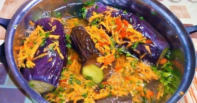 маринованные баклажаны рецепт