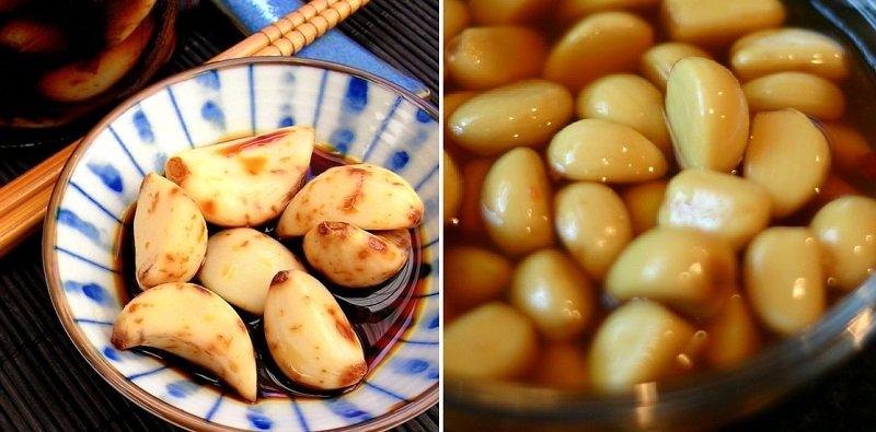 рецепти маринованого часнику