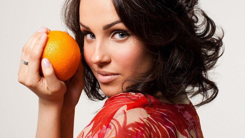 користь апельсина для шкіри