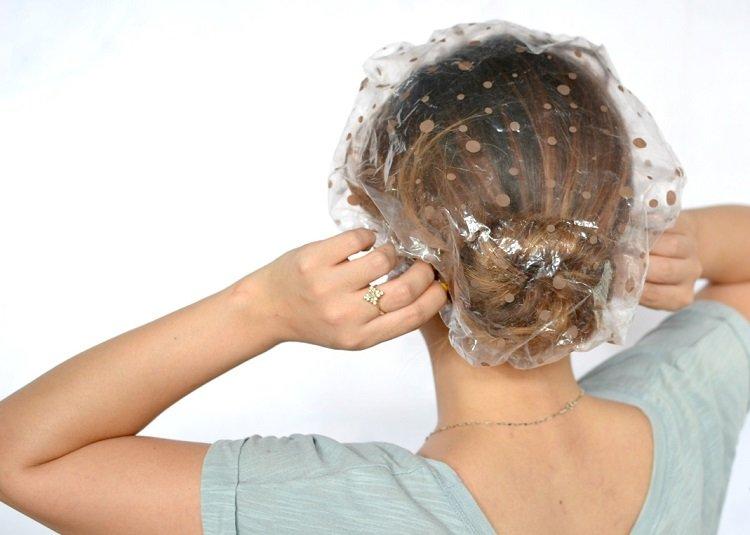 Maska do włosów przez Olga Sumskaya