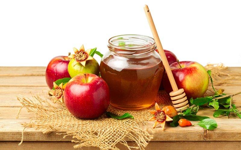 польза мёда и яблок