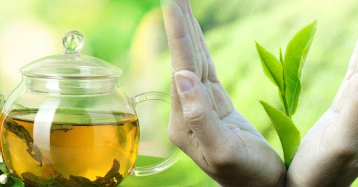 зеленый чай для кожи