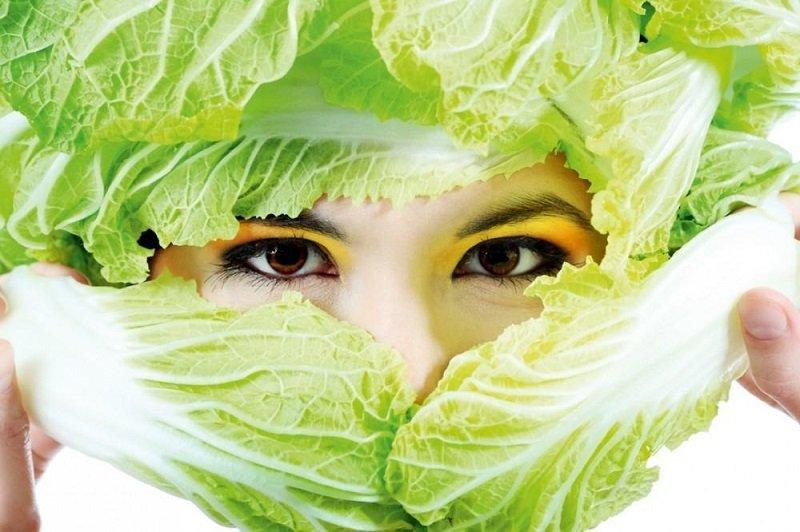 маски из капусты