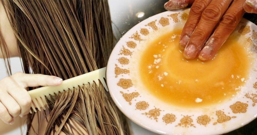 Масло гхи для волос