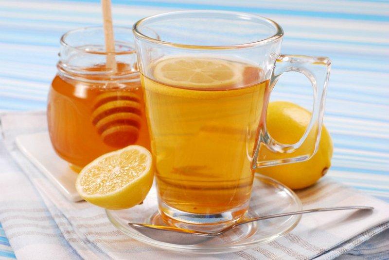 мёд и вода с лимоном