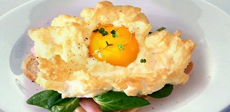 блюдо из яиц