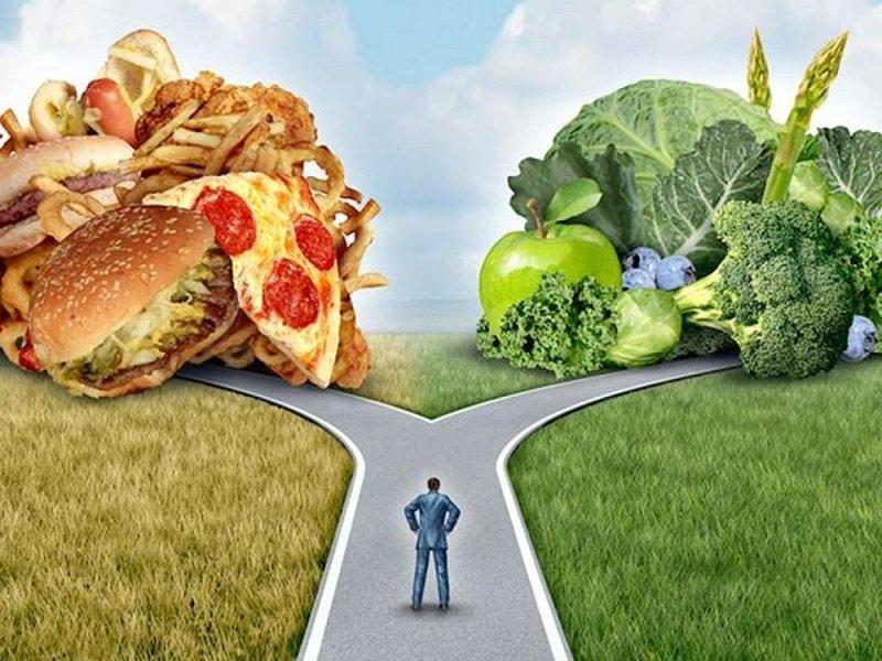вегетарианство и фастфуд фото