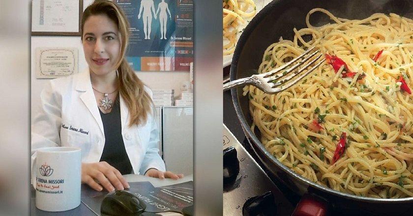 спагетти на ночь