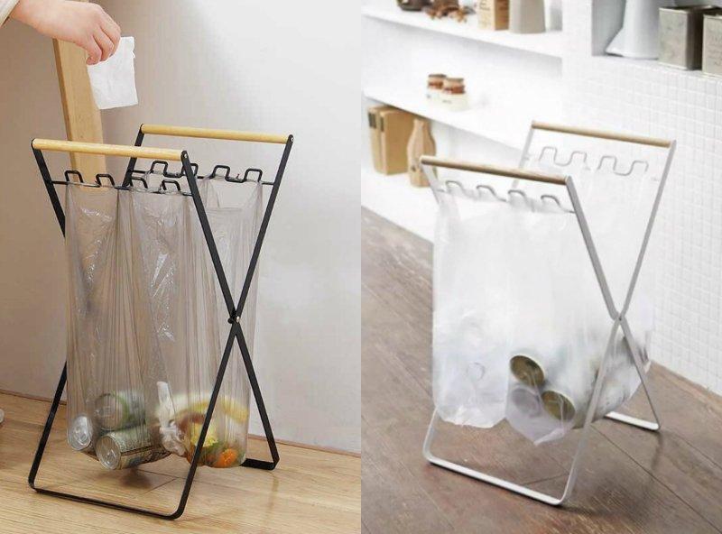 складной держатель для мусорных пакетов