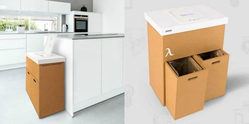 контейнер с автоматической сортировкой мусора